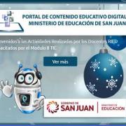 portal de contenido educativo digital