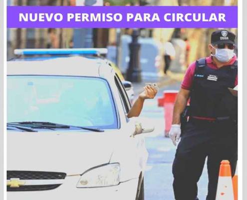 nuevo permiso para circular